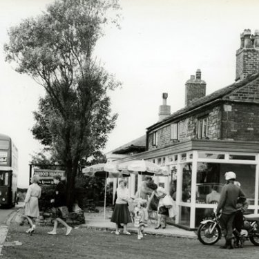 Parbold Hill cafe